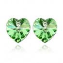 Earrings created with Swarovski® crystal.