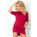 Blouses dress - Mirela - Bordo