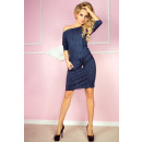 Dress sport - Viscose - jeans navy
