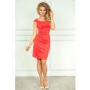 Großhandel Fashion & Accessoires: Anliegendes Kleid - Dunkel Coral