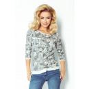 wholesale Pullover & Sweatshirts: 97-2 JACKET FABRIC  loop - WHITE W BLACK PINK