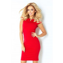 132-2 DRESS WITH kisses - RED