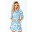 ingrosso Ingrosso Abbigliamento & Accessori: 38-18 serrature Dress - onde blu