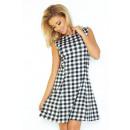 ingrosso Ingrosso Abbigliamento & Accessori: 137-4 vestito  TRAPEZ -  nero-bianco ...