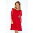 ingrosso Ingrosso Abbigliamento & Accessori: 141-2 vestito  TIULOWYMI con maniche - RED