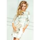 wholesale Dresses: Dress with zips - big beige wheels