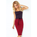 wholesale Skirts: 127-1 Skirt with  pockets and drawstring - strips