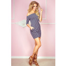 Jola dress / tunic - dark blue stripes