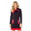 ingrosso Ingrosso Abbigliamento & Accessori: 129-4 vestito  JUSTYNA con tre serrature - nero