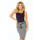 wholesale Skirts: 127-2 Skirt with  pockets and drawstring - strips
