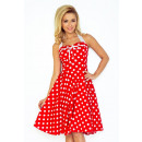 wholesale Dresses: 30-21 Rockabilly pin up dress - RED