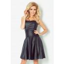 wholesale Erotic Clothing: CORSET DRESS WITH PU leather - BLACK