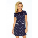 wholesale Fashion & Apparel: Dress ASIA 134-5  with two locks - grenade