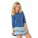 ingrosso Ingrosso Abbigliamento & Accessori: 106-1 ABITO frilly e NET - BLU +