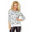 wholesale Pullover & Sweatshirts: 97-4 JACKET FABRIC  loop - GREY + sketched