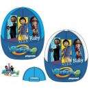 child cap blue playmobil
