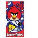 ingrosso Home & Living: asciugamano da  bagno 70x140cm Angry Birds cotone