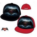 Großhandel Lizenzartikel: Batman vs Superman Cap 100% Baumwolle