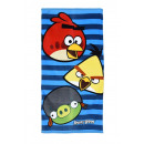Großhandel Bad- und Frottierwaren: Handtuch Bad Angry  Birds 70 x 140 cm Baumwolle