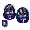 grossiste Gadgets et souvenirs: Casquette euro  2016 Matuidi équipe de France