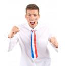 Cravate tricolore France