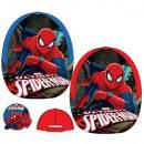 groothandel Licentie artikelen: Kinderen Cap Spiderman rood blauw