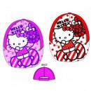 groothandel Licentie artikelen: Kinderen Cap Hello Kitty roze rood