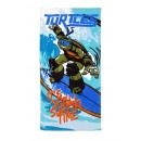 Großhandel Bad- und Frottierwaren: Handtuch Bad Ninja  Turtles 70x140 cm Baumwolle