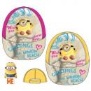 groothandel Licentie artikelen: Hat Minions geel roze kind