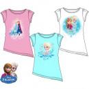 hurtownia Odziez dla dzieci i niemowlat: T-Shirt dla dzieci  Kraina Lodu krótkie rękawy 3 ko