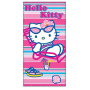 wholesale Licensed Products: towel bath Hello  Kitty 70 x 140cm 100% cotton