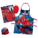 groothandel Licentie artikelen:schort Spiderman