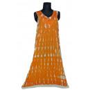 Sommer Damen Kleid - Orange