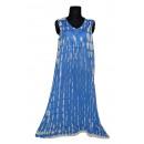 Sommer Damen Kleid - Hellblau