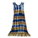 Großes Sommerkleid - gestreift