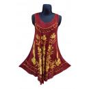 Großhandel Fashion & Accessoires: Sommerkleid der Frauen - Burgunder