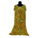 Extra großes Sommerkleid - gelb