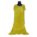 Extra großes Sommerkleid - Gold