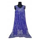 Großes Sommerkleid - blaue Flieder