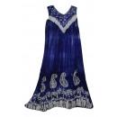Großes Sommerkleid - blau