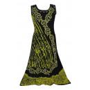 Sommer Damen Kleid - Gold