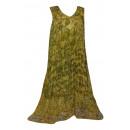 Sommer Damen Kleid - Gelb