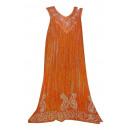 Großes Sommerkleid - Orange