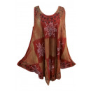 wholesale Fashion & Apparel: Ladies' dress, summer - brown