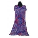 Extra großes Sommerkleid - lila