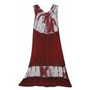 Großes Sommerkleid - rot