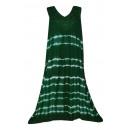 Großes Sommerkleid - dunkelgrün