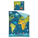 wholesale Cushions & Blankets:World map bedding