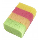 wholesale Shower & Bath: Royal Extra Bath Sponge Rainbow 1 pcs