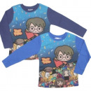 Camiseta de manga larga niño Harry Potter